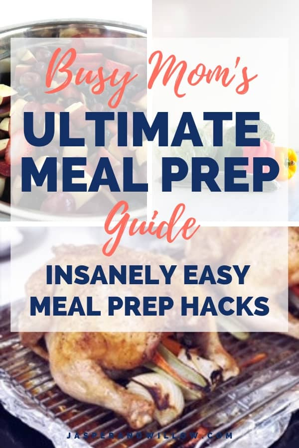 family meal prep guide